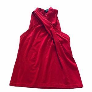 YIGAL AZROUEL**Pink Wool Blend Top**Small $589